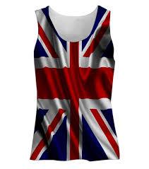 British Flag Dress Snoogg British Flag Wallpaper Womens Tunic Casual Beach Fitness