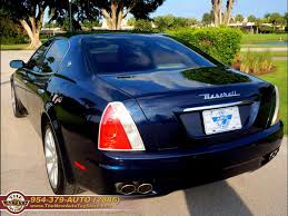 blue maserati quattroporte 2008 maserati quattroporte automatic