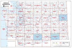 Washington Map State Dnr Updates Public Land Quad Maps The Spokesman Review
