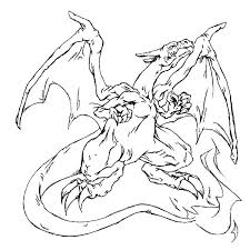 pokemon charizard coloring pages getcoloringpages