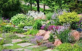 Steingarten Mit Granit Die Steingärten Garten Europa