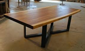 Dining Room Furniture Edmonton with Endearing Live Edge Dining Table For Home Interior Design Ideas