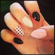 cute almond nails be beautiful pinterest almond nails nail