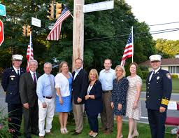 Bohemia Flag Rep Zeldin Attends Bohemia Road Renaming Honoring Thomas D Croci