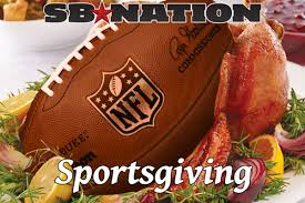 turn thanksgiving into a sport with our sportsgiving scorecard
