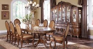 Dining Room Sets With China Cabinet Bar Aico Dining Room Set Modern Microfiber Sofa Michael Amini