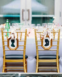 Bride And Groom Chair 40 Pretty Ways To Decorate Your Wedding Chairs Martha Stewart