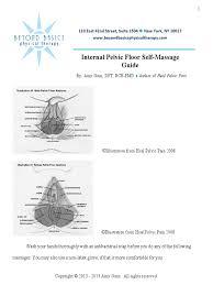 download internal pelvic floor self massage guide docshare tips