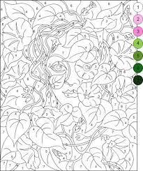 32 malvorlagen coloring flora u0026 landschaften images