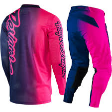 design jersey motocross troy lee designs new 2017 mx gp air 50 50 flo pink navy tld