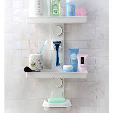 Bathroom Storage Rack by Diy Combined Rack Shower Rack Bathroom Storage Rack Sponge Drain