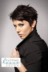 how to cut pixie cuts for thick hair 86 best cutting loose salon images on pinterest haircolor hair