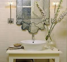 unique bathroom mirror ideas cool lighting bathroom ideas beside dress mirror furniture