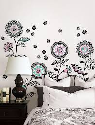 beautiful wall decals art work from walltat c3 a2 c2 ab home architecture ideas inspiration wall stickers design chic floral sticker decal at white painted as inspiring