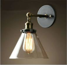 Single Light Wall Sconce Sconce Interior Wall Sconce Light 13 Tall Single Light Black
