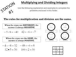 fraction bar worksheetrules for adding and subtracting integers