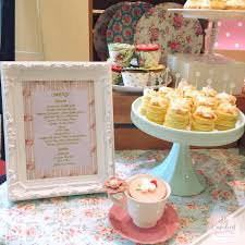 a vintage tea party shabby chic cath kidston inspired dessert