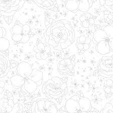 beautiful seamless floral pattern flower vector illustration