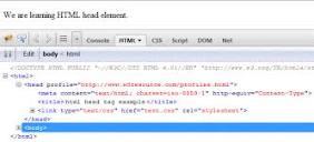 Image of <head> html