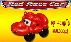 clown balloon l race car balloon animal tutorial balloon twisting modeling