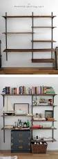 Build A Wood Shelving Unit by Best 25 Wall Bookshelves Ideas On Pinterest Shelves Ikea