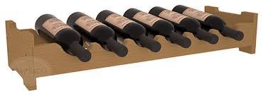 wine racks america 6 bottle mini scalloped wine rack pine