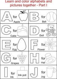 capital letters coloring printable kids alphabets