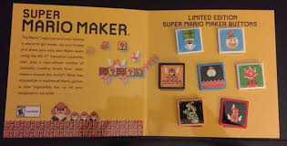 7 Best Images About Makers A Look At Best Buy U0027s Super Mario Maker Button Set Nintendo