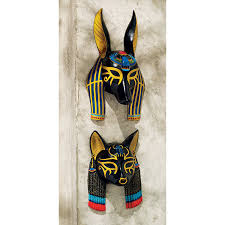 Ancient Egyptian Home Decor Amazon Com Design Toscano Mask Of Ancient Egyptian Gods Anubis
