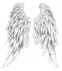centered on the shoulder blade ink d wings