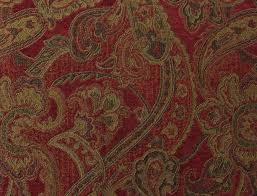 Eco Upholstery Fabric Paisley Uholstery Fabric Woven Synthetic