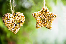 diy birdseed ornaments moonfrye