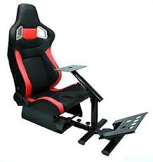 Race Chair Gaming Seat Driving Race Chair Sim Cockpit Ps4 Xbox Chair Not