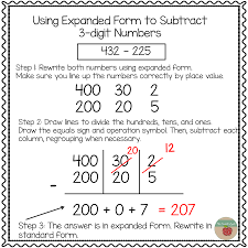 numbers in expanded form who s who and who s new using expanded notation to regroup