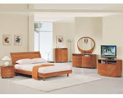 Cherry Bedroom Furniture Bedroom Set Elma In Cherry Finish 35b11
