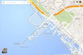 Google Map Route by Google Thinks Los Angeles Is Underwater The Verge