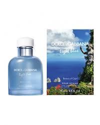 dolce and gabbana light blue 2 5 oz dolce gabbana light blue man in der liebe capri 75ml edt the best