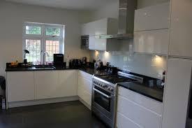 black worktop white cupboards kitchen photo gallery best quality fitting ltd