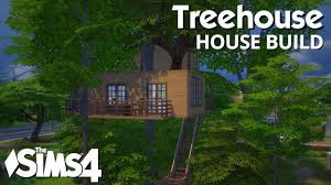 the sims 4 house building treehouse youtube