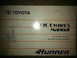 1998 toyota 4runner owners manual toyota 4runner repair manual ebay