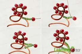 how to make wire wrapped christmas tree ornament for desk