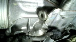 nissan quest transmission plug youtube