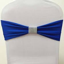 royal blue chair sashes rhinestone chair sash irent everything