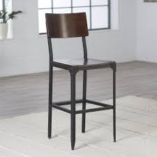 rustic industrial bar stools bar stools industrial counter stool with wood top steel bar