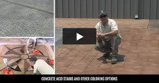 staining old concrete patio concrete stain tips on purchasing u0026 installation the concrete