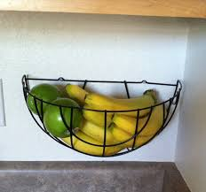 Planters That Hang On The Wall Cool Wall Mounted Fruit Basket Homesfeed