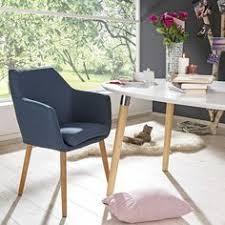 möbel stühle esszimmer armlehnstuhl in holz textil eichefarben petrol stühle