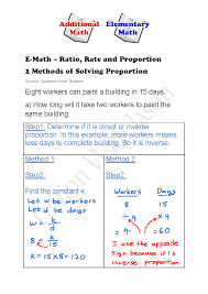 gcse maths ratio and proportion worksheets printables ratio