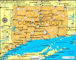 Connecticut Map Usa by Charles Goodyear By Michelle Ritter
