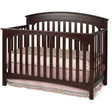 Cherry Convertible Crib by Child Craft Stanford 4 In 1 Convertible Crib Cherry Walmart Com